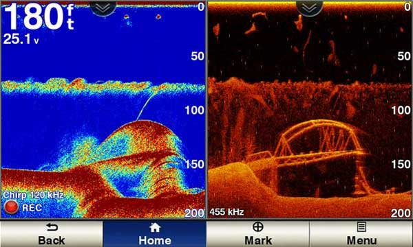 How Chirp Sonar (Fishfinder) works?